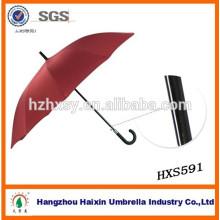 Langer Auto-gerader Golf-Werbungs-Regenschirm