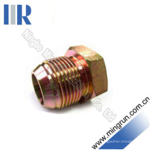JIS Gas Männlich 60 Ellenbogen Hydraulische Stecker Rohrverbinder Adapter (4 S)