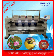 Top Quality 4 Head Embroidery Machine/ Computer Multi Function Embroidery Machine Ho1504c