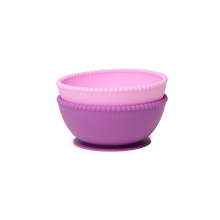 100% BPA Free Suction Silicone Bowls