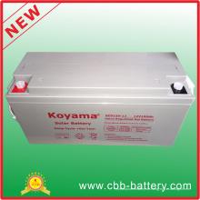 Tiefe Zyklus-Gel-Solarbatterie 12V 150ah für Sonnensystem