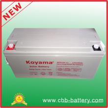 Batterie solaire profonde de gel de cycle de 12V 150ah pour le système solaire