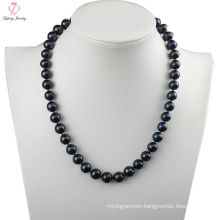 Chinese Faux Cheap Price Fake South Sea Black Pearl Necklace