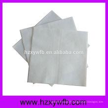 Serviettes en papier blanc One Ply Serviettes Airlaid en gros Serviettes en papier