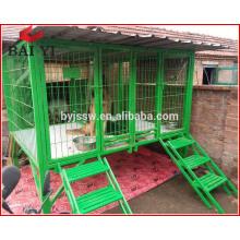 Venta superior de jaula de perro de acero en venta