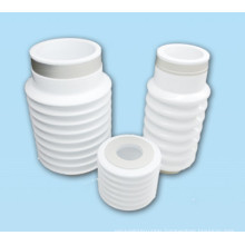 Metalized alumina vacuum Ripples ceramic tube