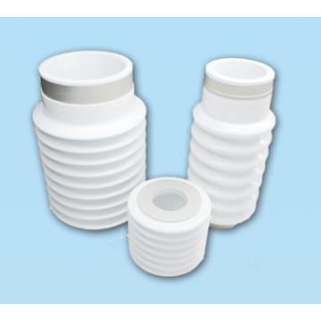 Metalized alumina vacuum Ripples ceramic tube