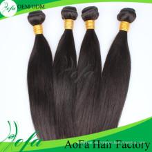 Extensión caliente del pelo humano de Remy del pelo de la Virgen del 100% sin procesar indio de las ventas 2016