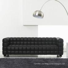 Sofá Kubus de estilo europeo para muebles de sala de estar de lujo