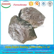 Низкоуглеродистый феррохром/Азотированный Ферро хрома при выплавке стали горячей продажи