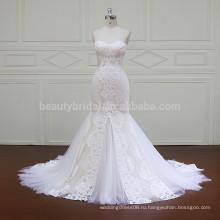 XF16006 рыбы вырезать платье изображений hochzeitskleid свадебные платья в Южной Африке