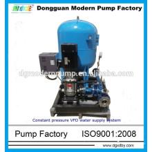 Sistema de refuerzo de agua de frecuencia variable de presión constante de la serie MBPS