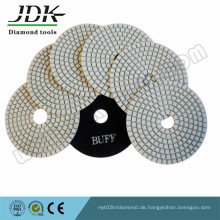 4-Zoll-trockene Diamant-Polierauflagen für Granit und Marmor