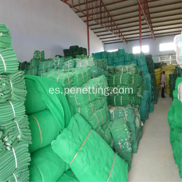 HDPE Construction Safety Net Red de protección resistente al fuego