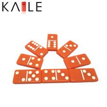 Usine orange personnalisée de pièce de Domino d'orange