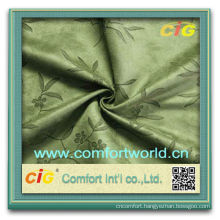 Fashion New Design 100% Polyester Jacquard Suede Sofa Fabric