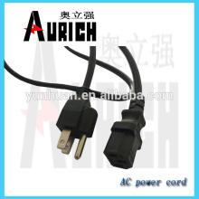 Alambre PVC estándar UL cable aislado cable de alimentación