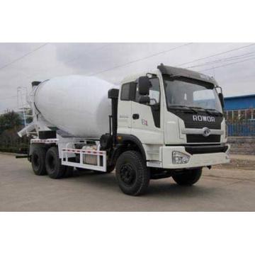 6cbm 260HP Foton 6X4 Cimento Camião Betoneira