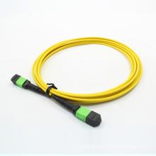 Разъем mpo/APC к МПО/APC оптического волокна патч-корд