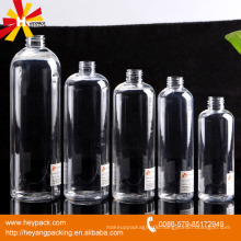 500ml transparent pet bottle