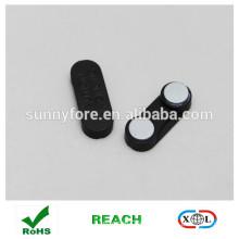 33*12mm badge magnet in block plastic case