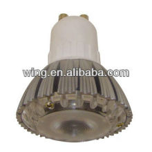 China Zinc alloy LED ceiling lamp tube casting housing