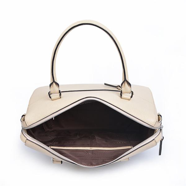 Womens leather handbag business package tassel crossbody bag