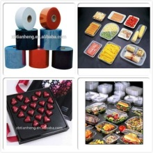Food Blister Thermoforming Clear Rigid Plastic Sheet PVC