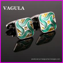 VAGULA esmalte qualidade Gemelos botões de punho (HL10135)