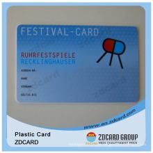 Cartão de Sócio / Cartão Pré-pago / Código de Barras / Cartão PVC / Cartão Plástico