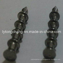 Chumbada de unha de pagode tungstênio brilhante liso 1/64 e 1/32 oz