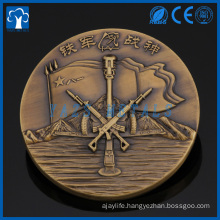 Custom brass 3D metal coin