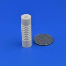 High Hardness Zirconia Ceramic Threaded Tube