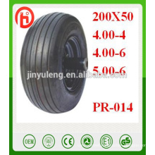 10'',13'' 16'' pneumatic wheels wheelbarrow tire 4.00-4/4.00-6/5.00-6/200X50