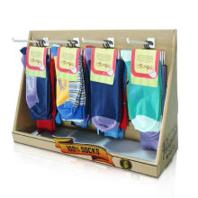 Retail Cardboard Countertop Display for Socks