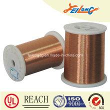 180 Fil rond émaillé en aluminium poli en polyuréthane