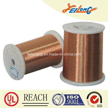 Fil rond en aluminium revêtu de cuivre émaillé, fil rond en céramique CCA émaillé