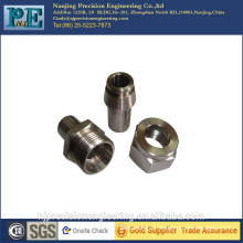 Precision cnc machining stainless steel pipe joint
