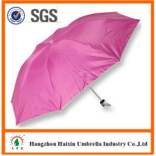 3 Folding One Dollar Umbrella with Silver Coating for Promotion Print Ads