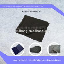 Tissu de semelle intérieure en fibre de carbone activée pour chaussures