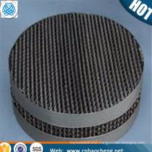 Fine Separation 60 100 mesh 2507 2205 duplex wire mesh distillation column packing