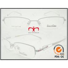2015 Óculos de leitura vendendo quentes elegantes do metal do metal de Eyewear (WRM410003)