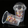 Tasses jetables en plastique de catégorie comestible en plastique matérielle d'usine de 14oz