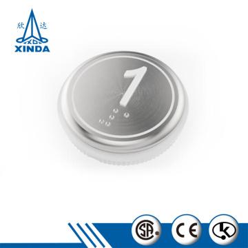 Nuevo botón pulsador de número de piso de elevación de pieza de ascensor