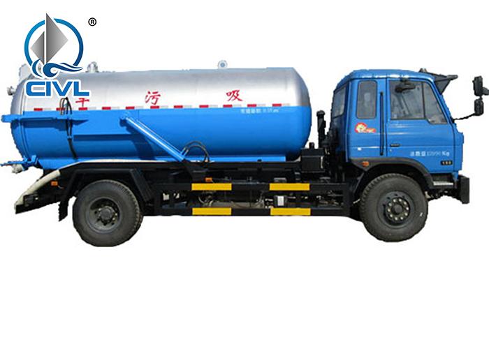 4x2 Sewage Suction Truck 4