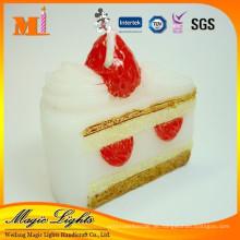 Zarte schöne Kuchenform Geburtstagskerze