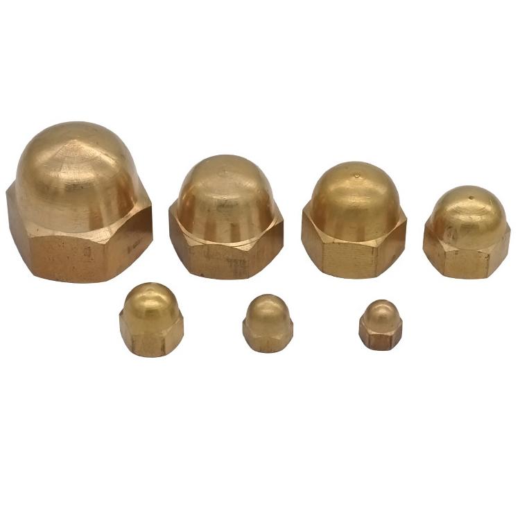 Brass Cap Nut