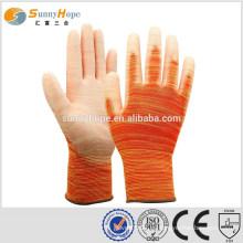 13 перчаток для оранжевой резиновой работы