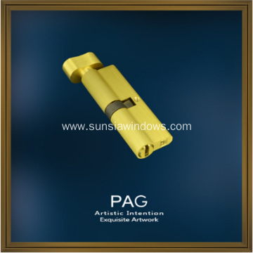 Pure Brass Knob Single-side Key Lock Cylinder