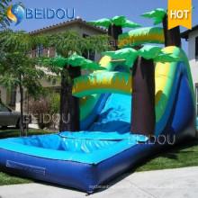 Los niños baratos populares inflables gigantes Niños Big Water Slide